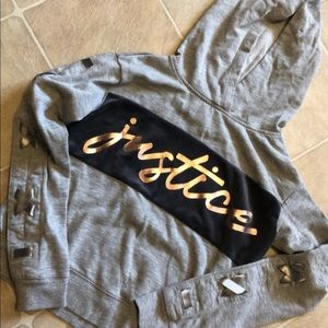 Justice size 10 hoodie